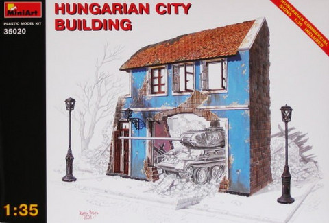 Hungarian City Building 1/35