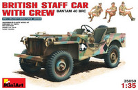 British Staff Car with Crew (BANTAM 40 BRC) 1/35