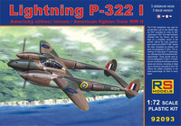 Lockheed Lightning P-322 I 1/72