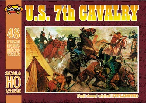 U. S. 7th Cavalry (48 osaa) 1/72