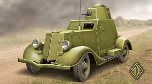 BA-20 Light Armored Car 1/48