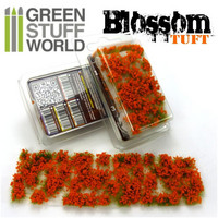 Blossom Tufts Orange