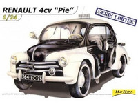 "Renault 4CV ""Pie"" Limited Edition 1/24"