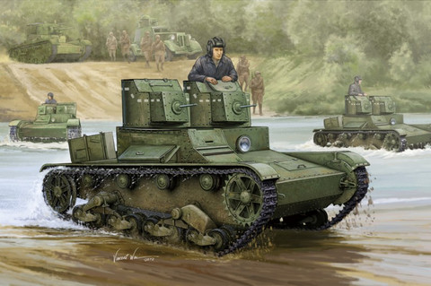 Soviet T-26 Light Infantry Tank 1/35