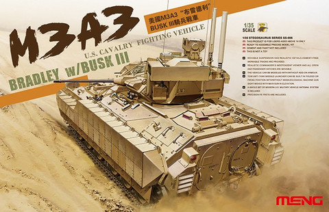 US Cavalry Fighting Vehicle M3A3 Bradley 1/35