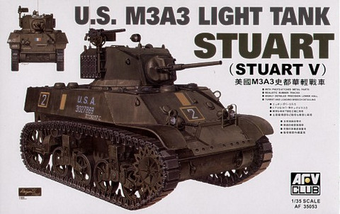 M3A3 Stuart Light Tank