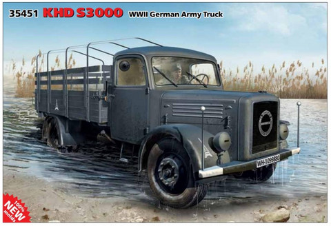 KHD S3000 German Army Truck 1/35