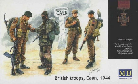 British Troops, Caen, 1944 1/35