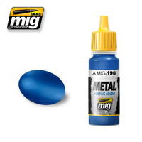 Warhead Metallic Blue, 17ml