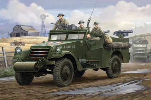 US M3A1 White Scout Car Early Type 1/35