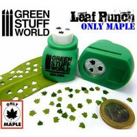 Leaf Punch Medium Green (Maple 1/16 Scale)