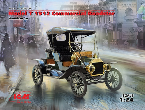 Model T 1912 Commerical Roadster