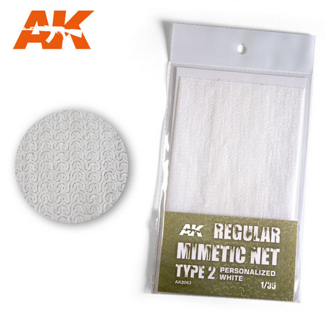 Camouflage Net Personalized White Type 2  1/35