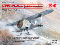 Polikarpov I-154 (Winter version with skis)  1/32