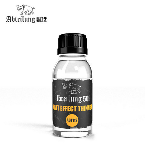 Matt effect thinner 100ml