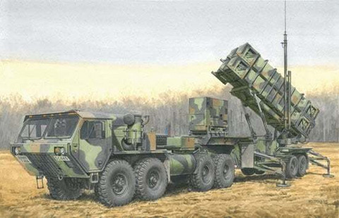 MIM-104B Patriot Surface-to-Air Missile (SAM) System (Pac1)