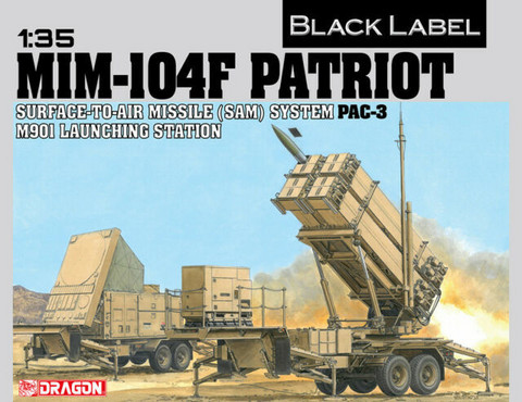 MIM-104F Patriot Surface-to-Air Missile (SAM) System (Pac3) M901 Launching Station 1/35