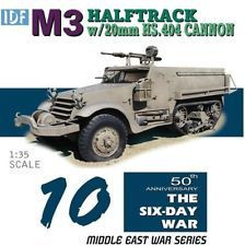 IDF M3 Halftrack with 20mm HS.404 Cannon 1/35
