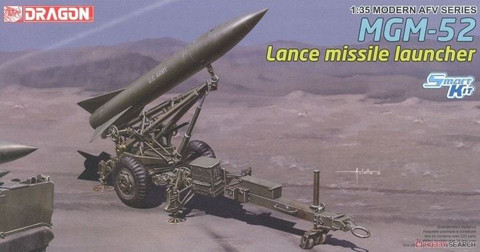 MGM-52 Lance Missile with Launcher (Smart kit) 1/35