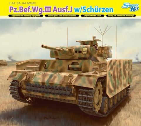 Pz.Bef.Wg.III Ausf.J with Shurtzen (Smart kit) 1/35