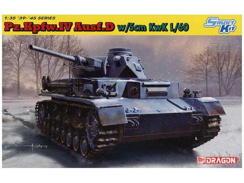PzKpfw IV Ausf.D with 5cm L/60 gun (smart kit) 1/35