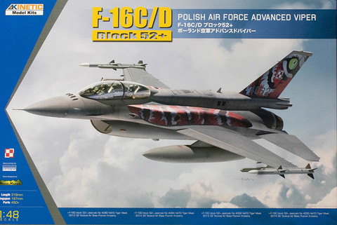 Lockheed-Martin F-16C Block 52+ Polish Air Force Advanced Viper 1/48