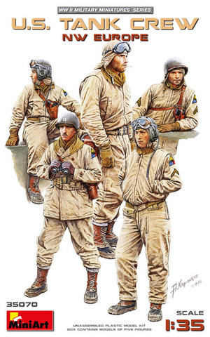 U.S. Tank crew North-West Europe 1/35