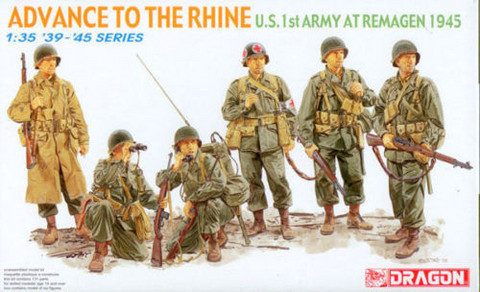 U.S. 1st Army Remagen 1945 1/35