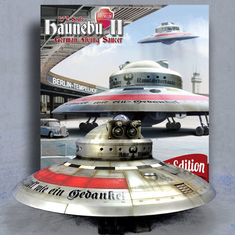 Haunebu II German flying Saucer Premium 1/72