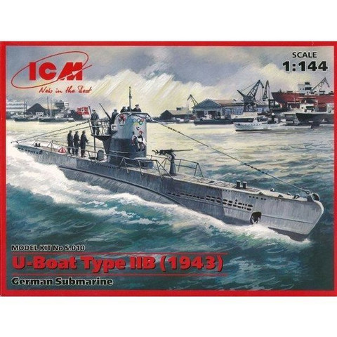 German U-boat Type IIB (1943) 1/144