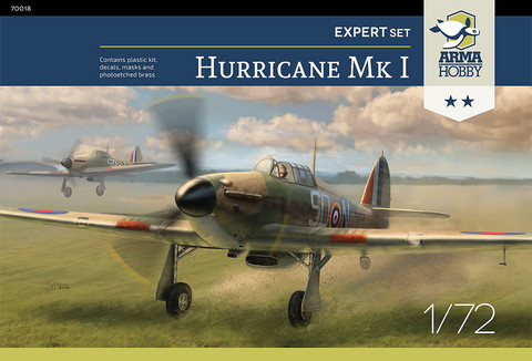 Hawker Hurricane Mk.I Expert Set 1/72