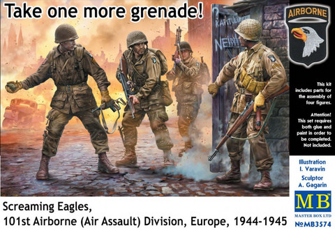 US Paratroopers Europe 1944-45 1/35