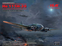 Heinkel He 111H-20 German Bomber 1/48