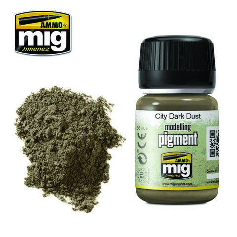 City Dark Dust Pigment