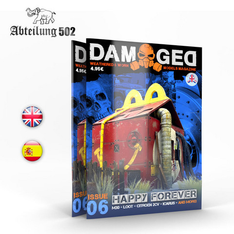 Damaged Magazine Issue 6