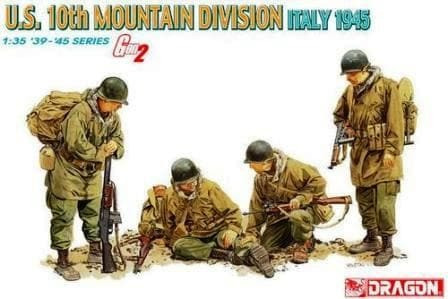 US 10th Mountain Division Italy 1945 (Gen 2) 1/35