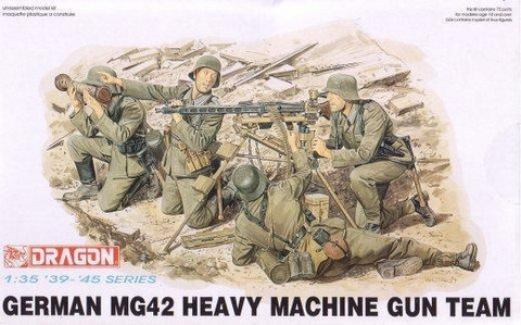 German MG42 Heavy Machine Gun Team 1/35