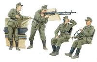 German Halftrack Crew 1/35