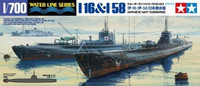 Japanese Navy Submarine I-16 & I-58