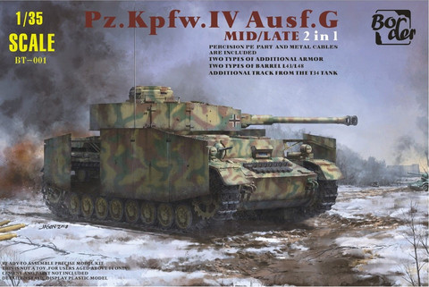 PzKpfw IV Ausf.G Midlle / Late Version (2 in 1) 1/35