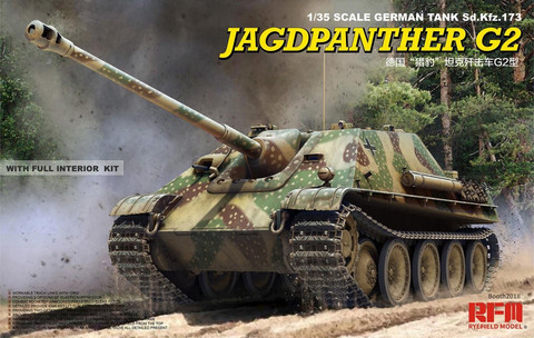 Jagdpanther G2 with Full Interior and Workable Tracks
