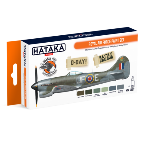 Royal Air Force Paint Set