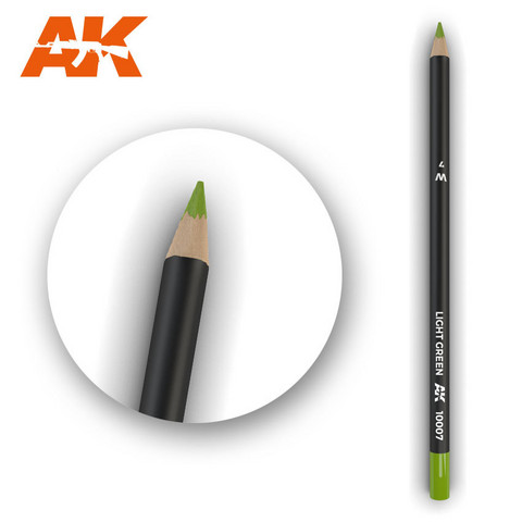 Watercolor Pencil Light Green