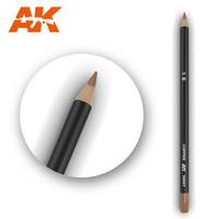 Watercolor Pencil Copper