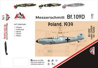 Messerschmitt Bf 109D Poland 1939 1/72