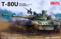 T-80U Russian Main Battle Tank 1/35