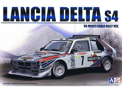 Lancia Delta S4 Martini Racing Team 1/24