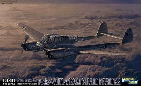 Focke Wulf Fw 189A-1 Night Fighter 1/48