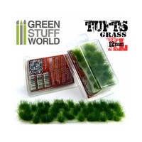 Grass Tufts XL 12mm self-adhesive Dark Green