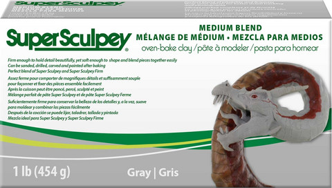 Super Sculpey Medium Blend 454g